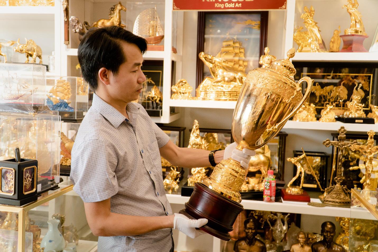 """Founder King Gold Art: Khởi nghiệp thành công với triết lý """"Tinh từ chất, đẹp từ tâm"""" - Ảnh 2."""