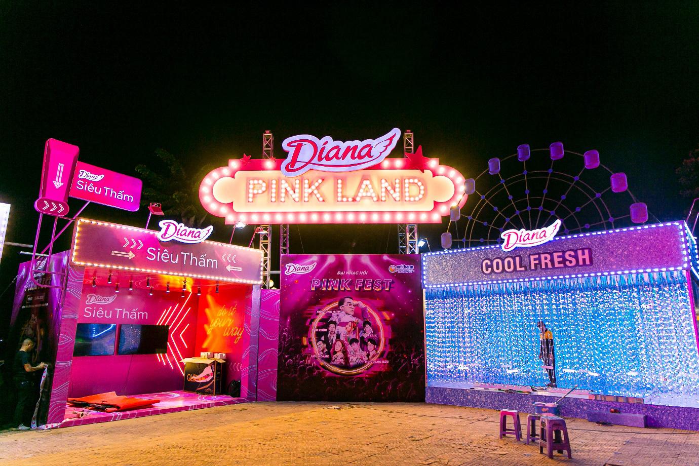 """Bên cạnh âm nhạc, Diana Pink Fest còn bao gồm chuỗi các hoạt động hấp dẫn trong tinh thần """"bình thường mới"""" - Ảnh 2."""