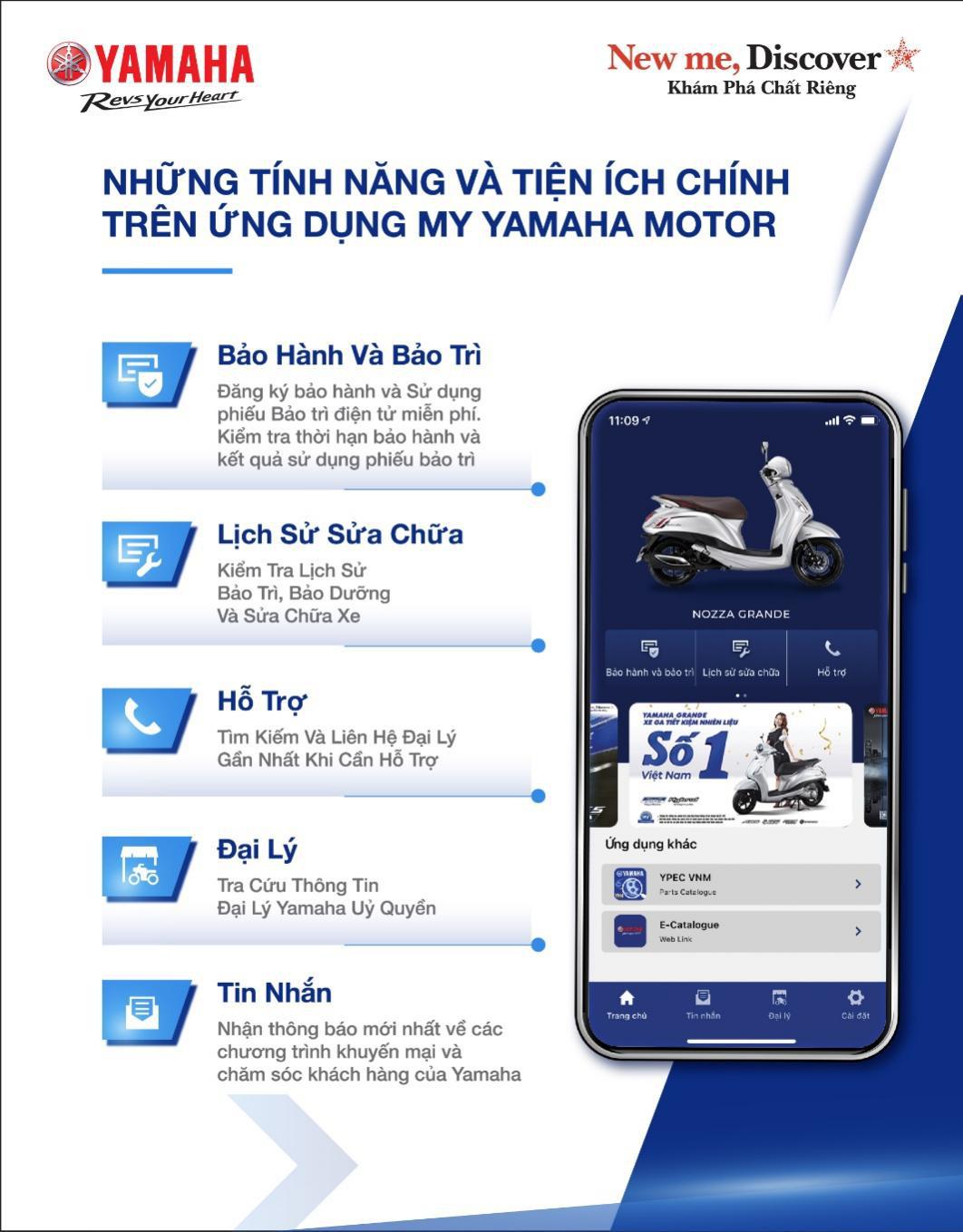 Yamaha ra mắt ứng dụng kết nối thông minh giữa con người và xe - Ảnh 1.