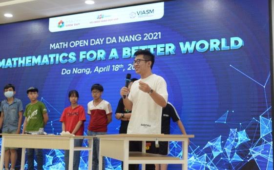 Tái hiện thử thách Siêu Trí Tuệ thế giới, MOD 2021 khiến teen Đà Nẵng căng não tìm lời giải - Ảnh 1.