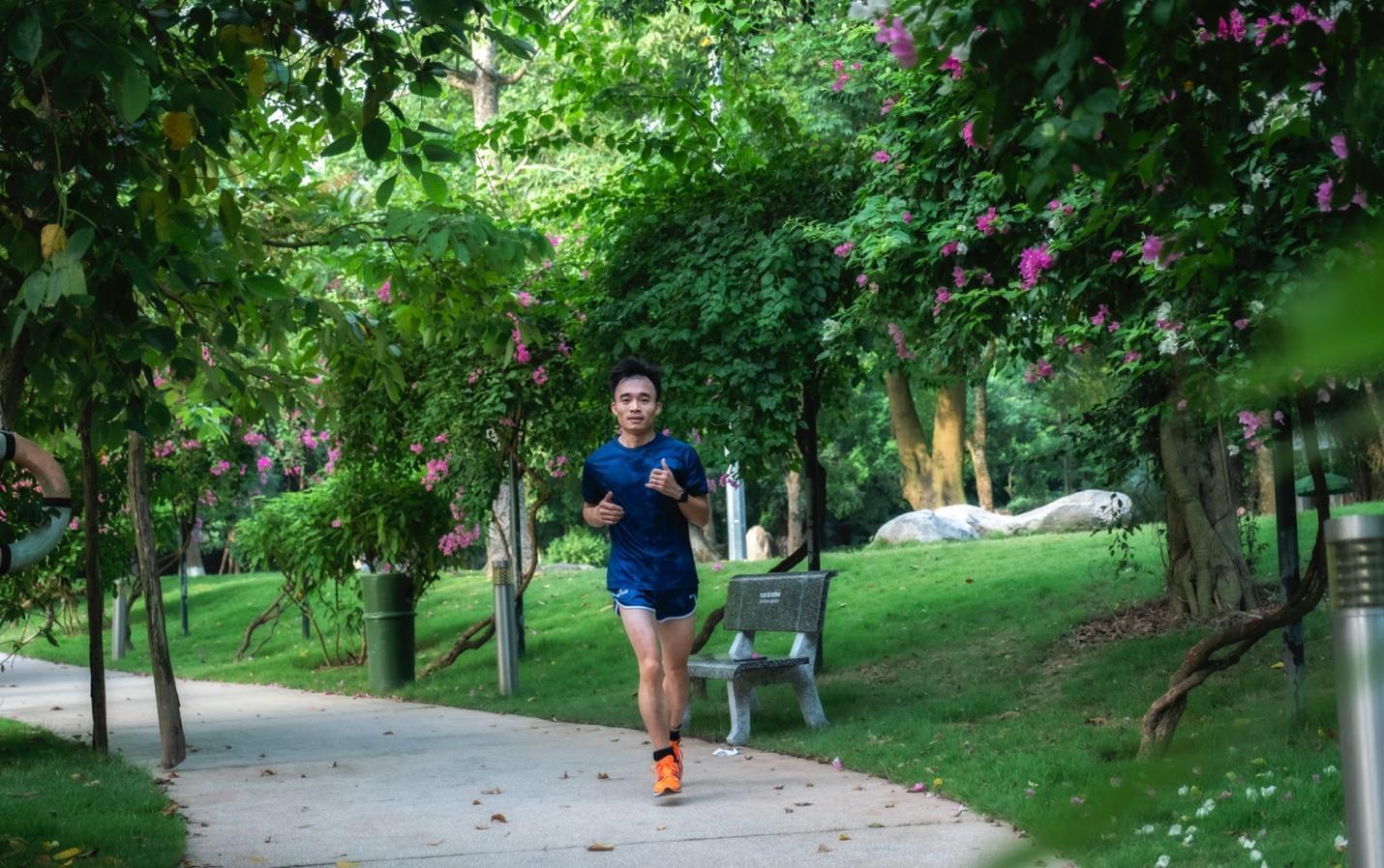"""Ecopark Marathon 2021 - Ngắm cung đường chạy giữa thiên nhiên """"siêu chất"""" trước giờ G - Ảnh 13."""