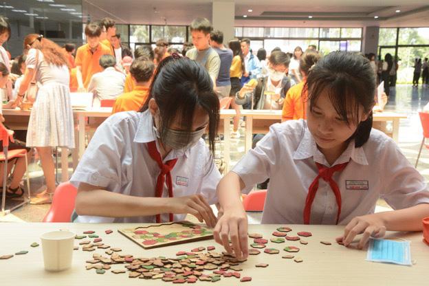 Tái hiện thử thách Siêu Trí Tuệ thế giới, MOD 2021 khiến teen Đà Nẵng căng não tìm lời giải - Ảnh 6.