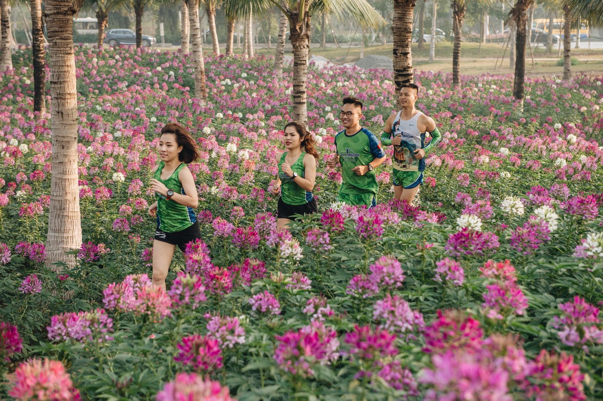 """Ecopark Marathon 2021 - Ngắm cung đường chạy giữa thiên nhiên """"siêu chất"""" trước giờ G - Ảnh 5."""