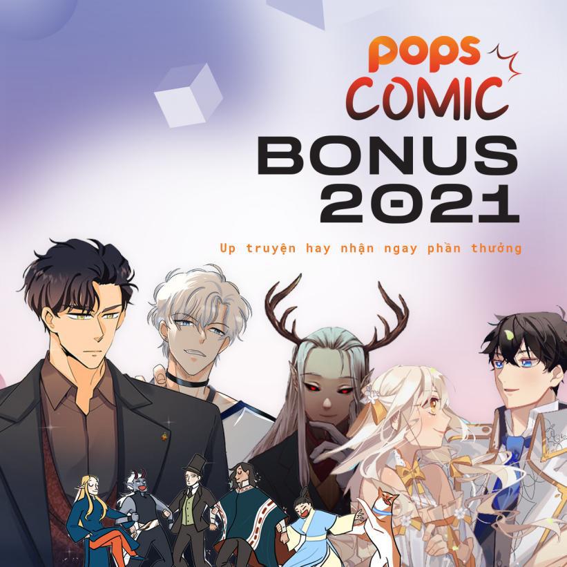 POPS Comics Bonus Program 2021