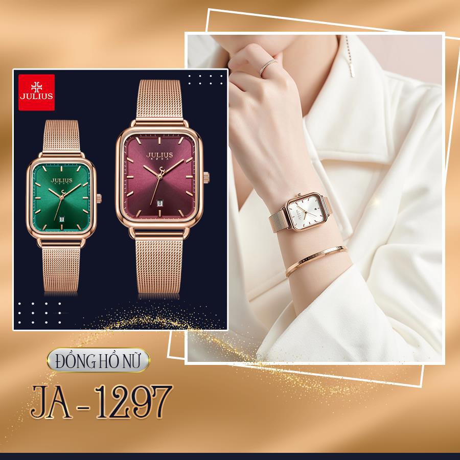 Đón đầu xu thế thời trang đẳng cấp và sành điệu với 10 mẫu đồng hồ Julius hot nhất 2021 - Ảnh 2.