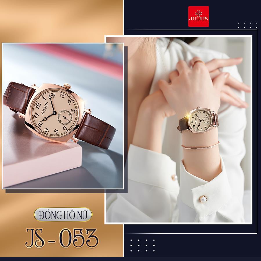Đón đầu xu thế thời trang đẳng cấp và sành điệu với 10 mẫu đồng hồ Julius hot nhất 2021 - Ảnh 3.