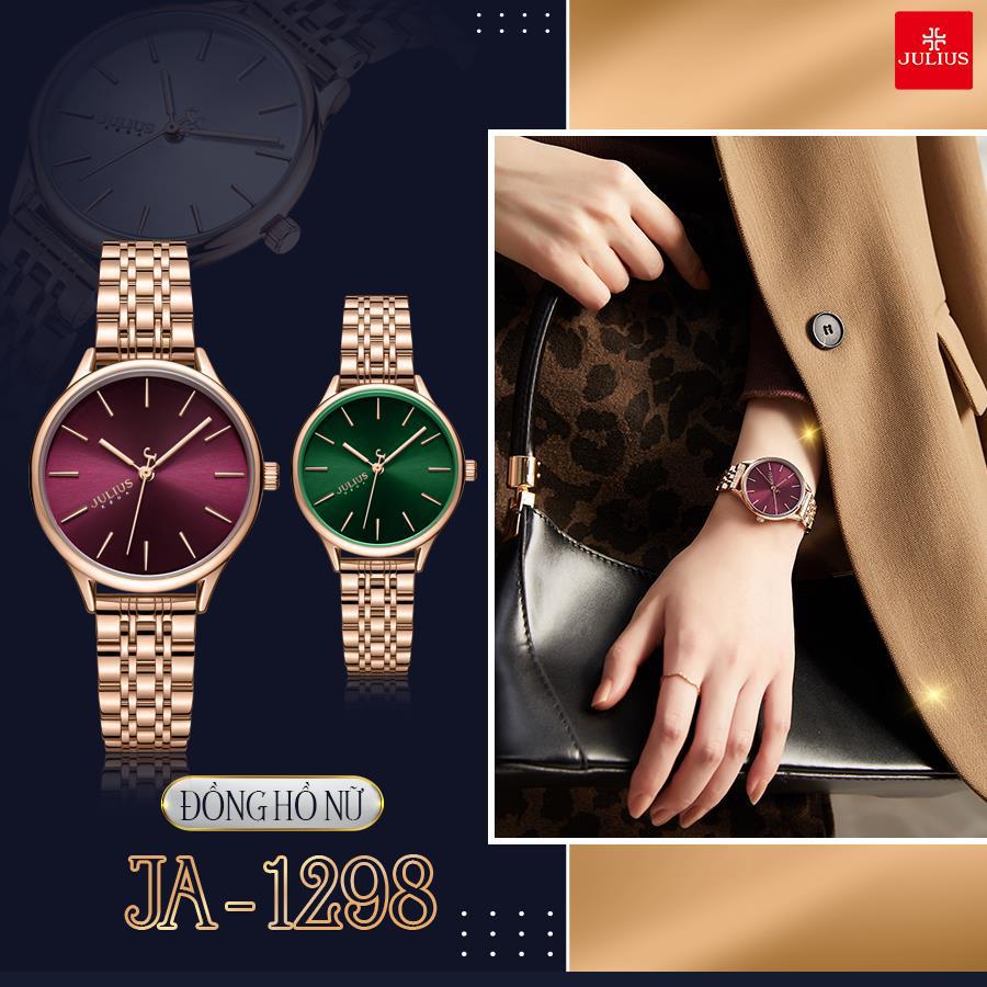 Đón đầu xu thế thời trang đẳng cấp và sành điệu với 10 mẫu đồng hồ Julius hot nhất 2021 - Ảnh 4.