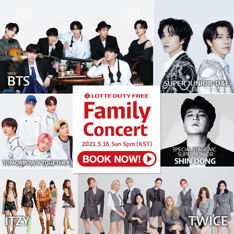 BTS, TWICE tham dự Lotte Duty Free Family Concert - Ảnh 1.
