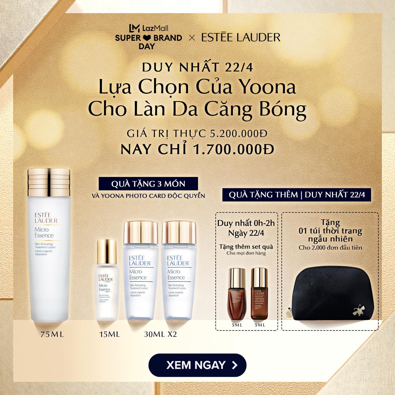 Duy nhất 1 ngày ưu đãi tới 50% cùng Estée Lauder để đẹp như Yoona - Ảnh 4.
