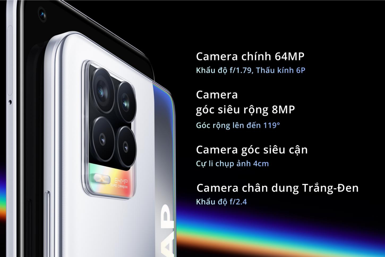 realme 8 series ra mắt với camera 108mp cùng thiết kế thời thượng cho người dùng trẻ - Ảnh 8.