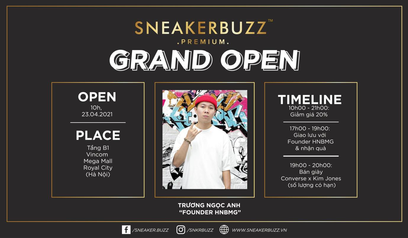 """Khám phá ngay không gian mua sắm """"sang xịn mịn"""" Premium Store của Sneaker Buzz vừa chính thức có mặt tại Hà Nội - Ảnh 9."""