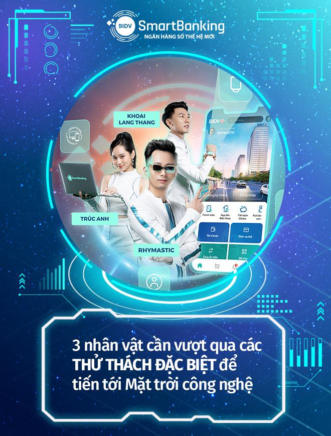 """Hé lộ """"vũ trụ"""" ngân hàng số thế hệ mới cùng Rhymastic, Khoai Lang Thang và Trúc Anh - Ảnh 1."""