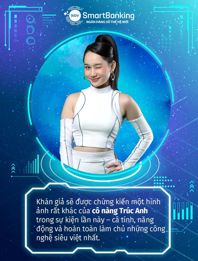 """Hé lộ """"vũ trụ"""" ngân hàng số thế hệ mới cùng Rhymastic, Khoai Lang Thang và Trúc Anh - Ảnh 4."""