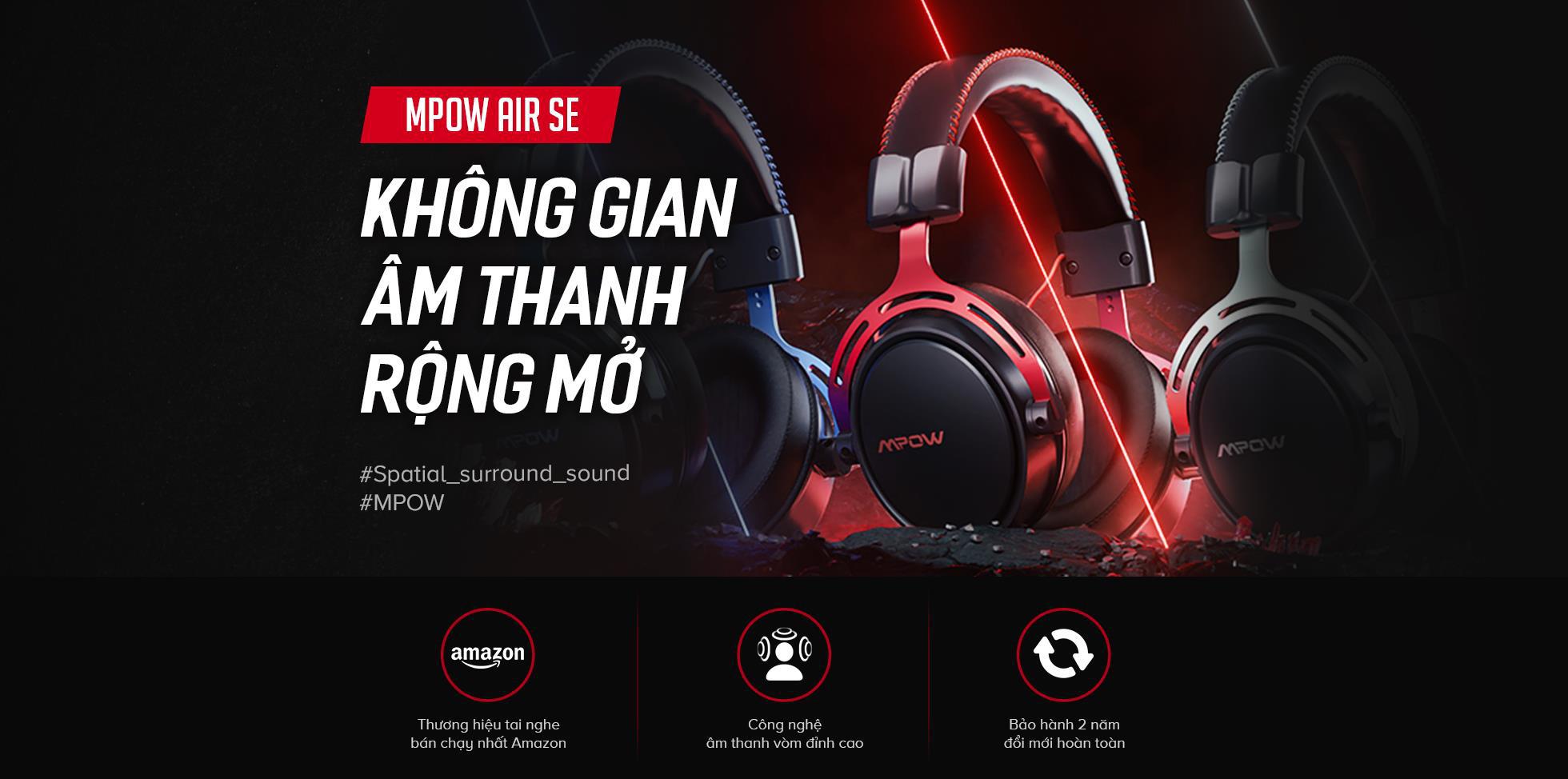 Giải mã MPOW AIR SE - Chiếc tai nghe của thương hiệu headphone bán chạy hàng đầu Amazon - Ảnh 1.