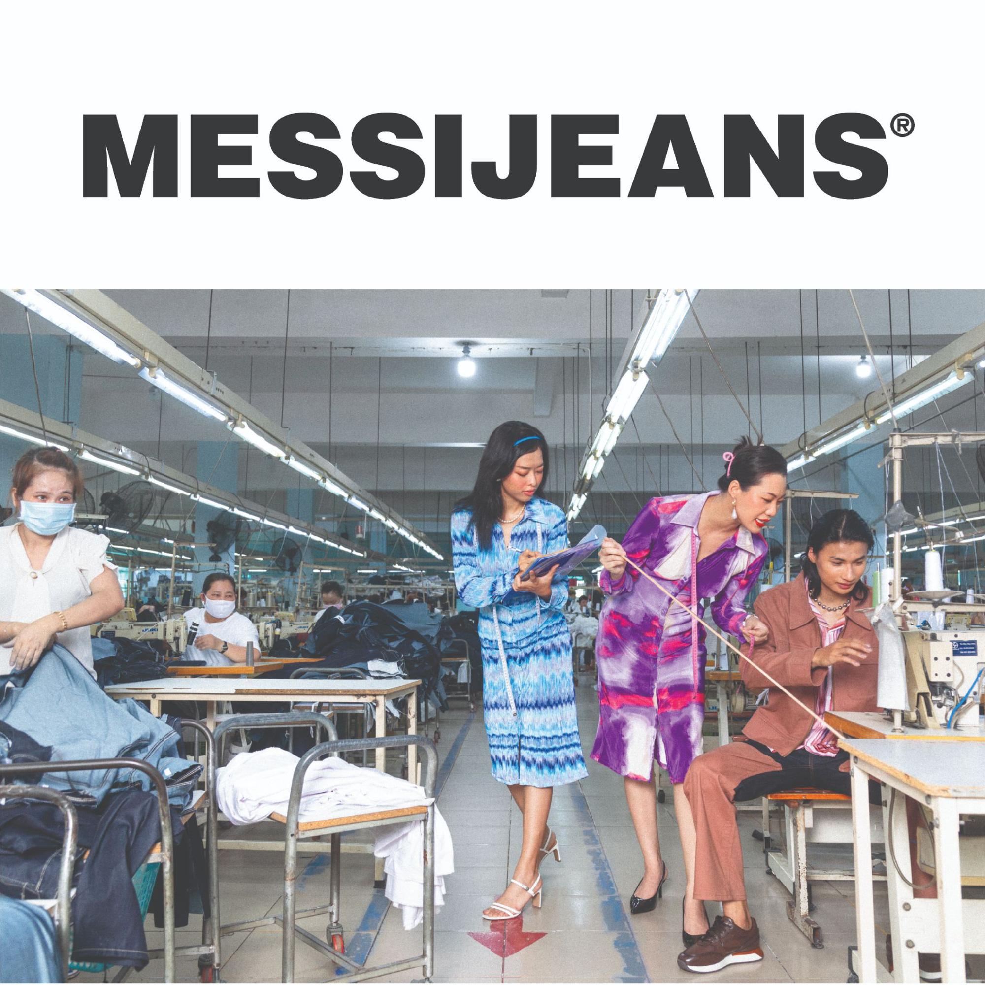 Sự kiện ra mắt BST Nét đẹp lao động của Messi Jeans: Hot fashionista Louis Hà góp mặt, có cả khu vực may túi lấy ngay - Ảnh 4.