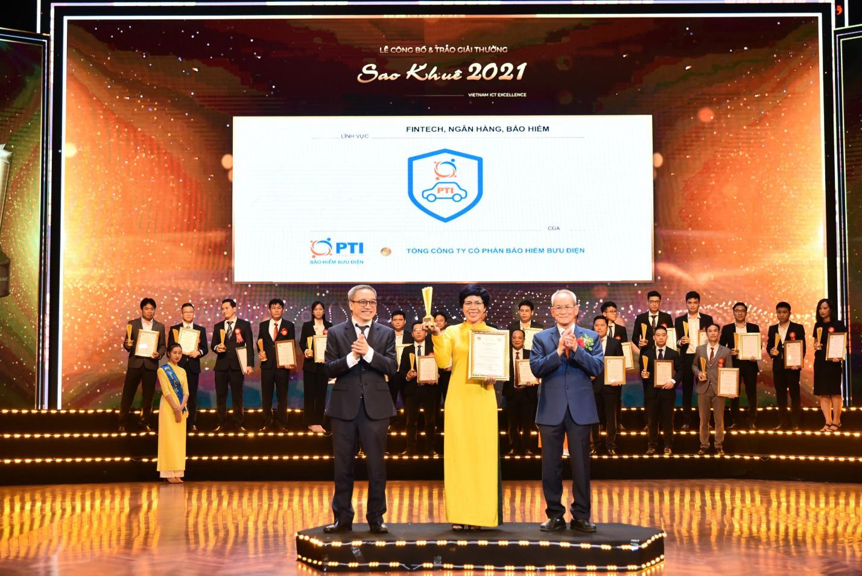PTI là doanh nghiệp bảo hiểm tiên phong đạt giải thưởng Sao Khuê - Ảnh 1.