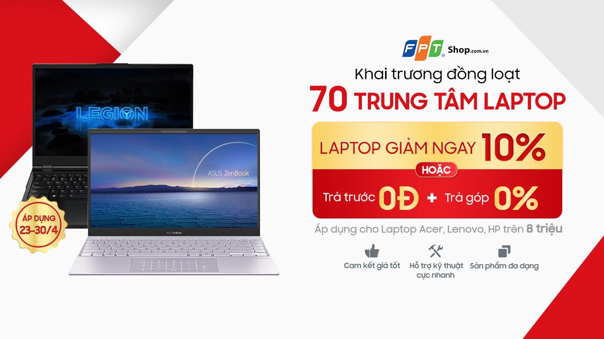 FPT Shop giảm thêm 10% cho hàng loạt laptop, tốc độ tăng trưởng hàng đầu thị trường - Ảnh 3.