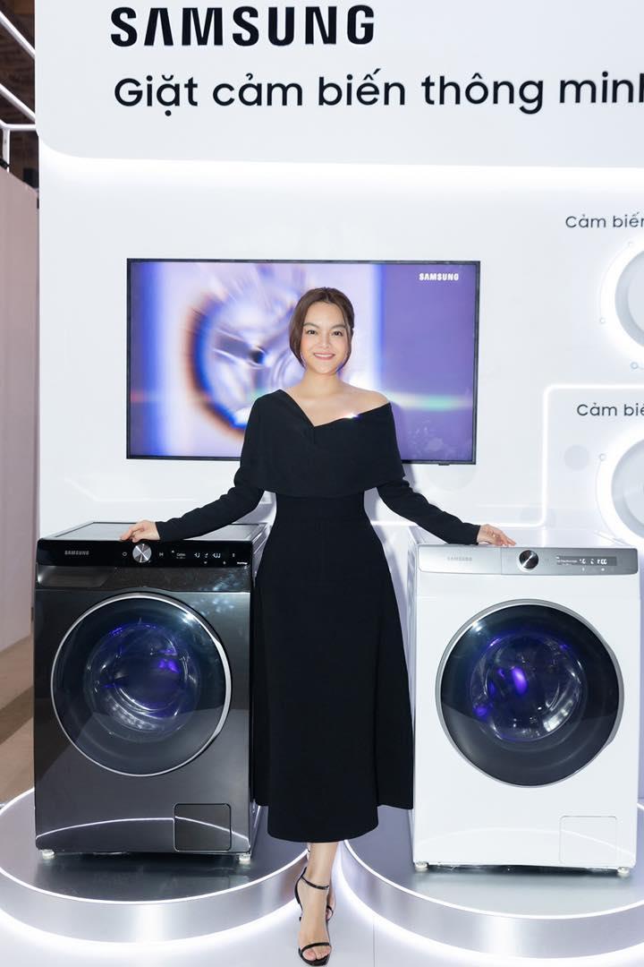 Có gì trong chiếc máy giặt thông minh mới khiến Phạm Quỳnh Anh cho tới vợ chồng đạo diễn Victor Vũ đều mê mẩn? - Ảnh 3.