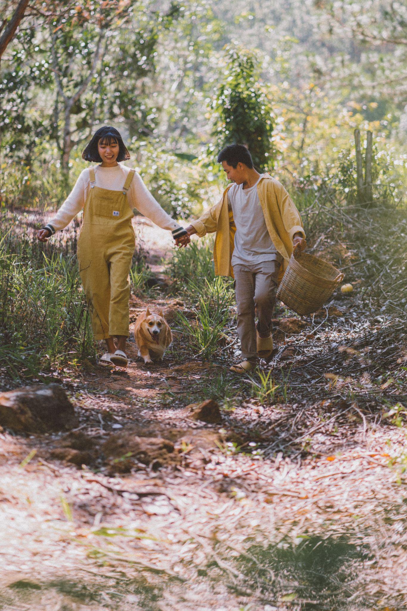 Giấc mơ về Đà Lạt của cặp đôi 9x và khu vườn cún bên bờ suối mộng mơ - Ảnh 7.