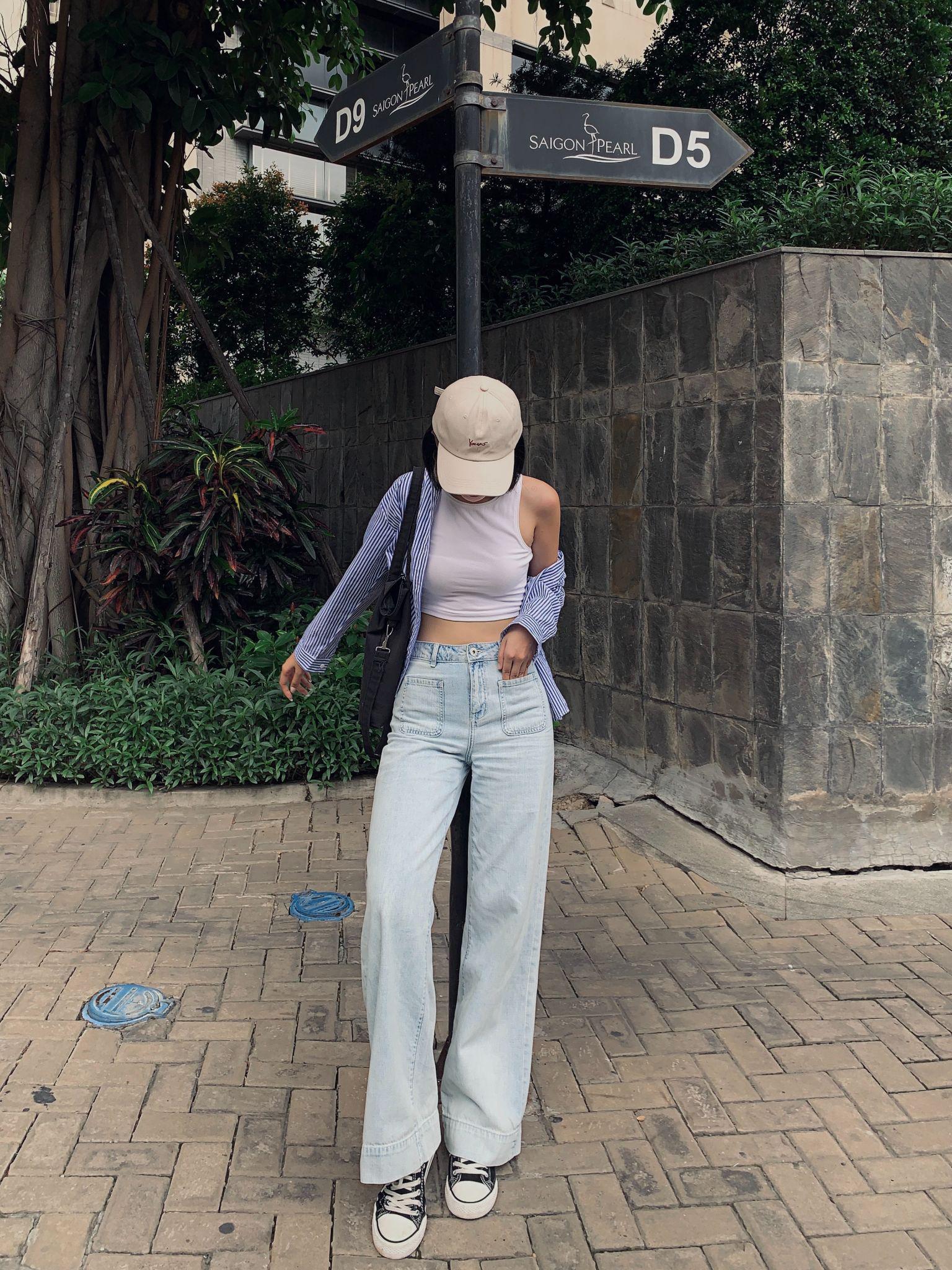 Điểm danh 6 dáng quần jeans mà cô nàng thời trang không thể thiếu - Ảnh 6.