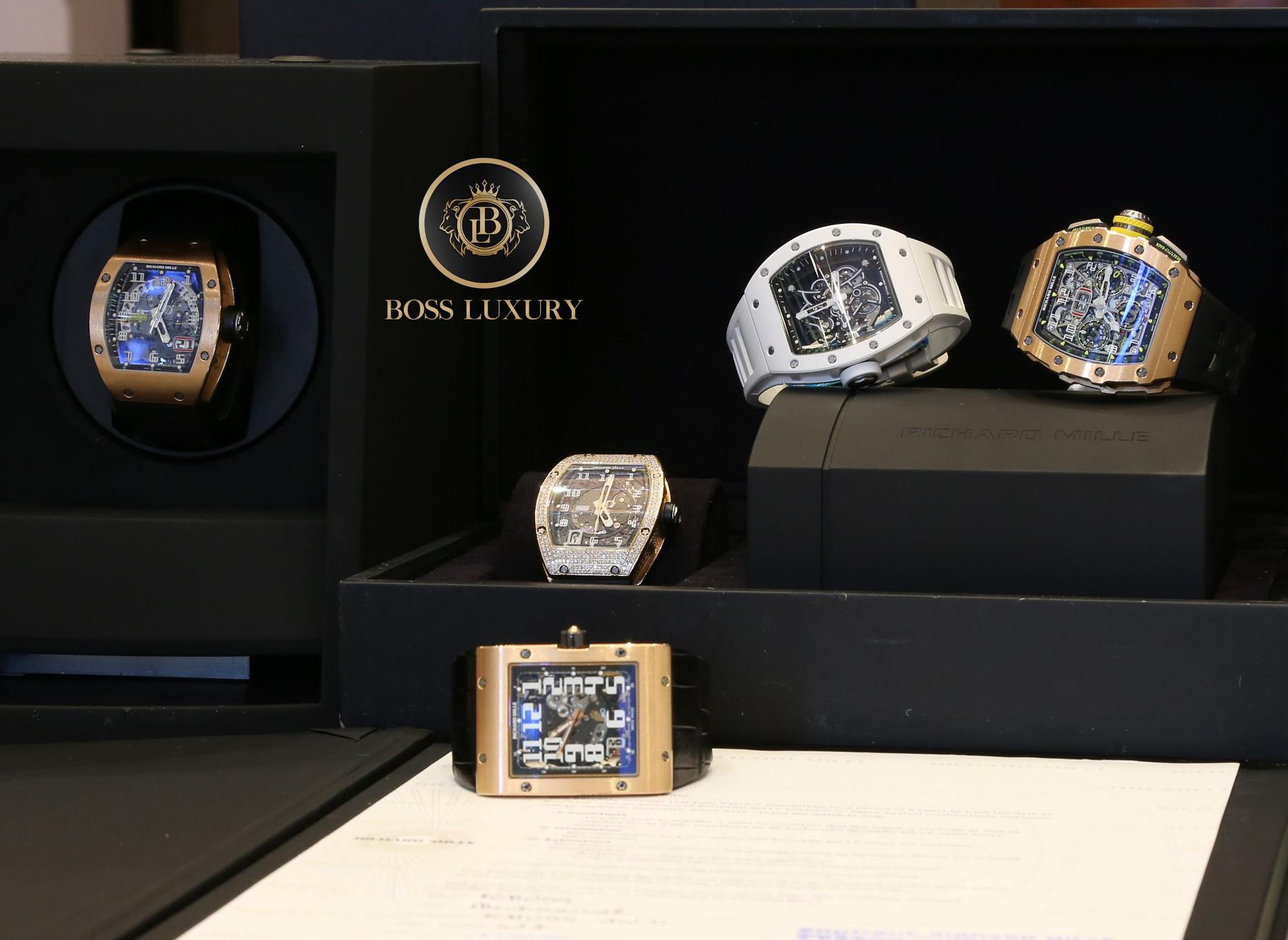 Đồng hồ Richard Mille và những dấu ấn khó quên tại Boss Luxury trong 4 tháng đầu năm 2021 - Ảnh 1.