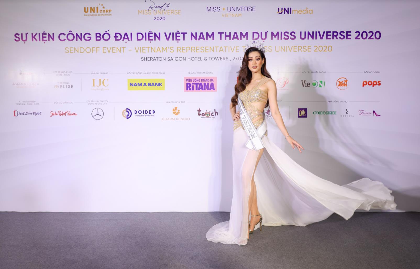 Khánh Vân tự tin, sẵn sàng cho hành trình sắp tới tại Miss Universe 2020 - Ảnh 3.