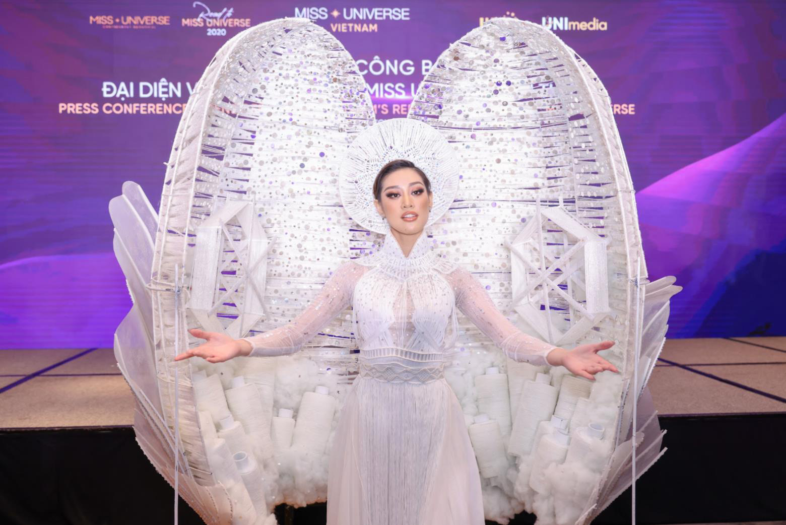 Khánh Vân tự tin, sẵn sàng cho hành trình sắp tới tại Miss Universe 2020 - Ảnh 4.