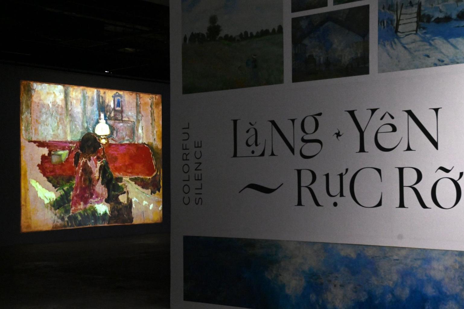 """""""Ngoài"""" và """"trong"""" ở triển lãm của Claude Monet và Pierre Bonnaer tại VCCA - Ảnh 7."""