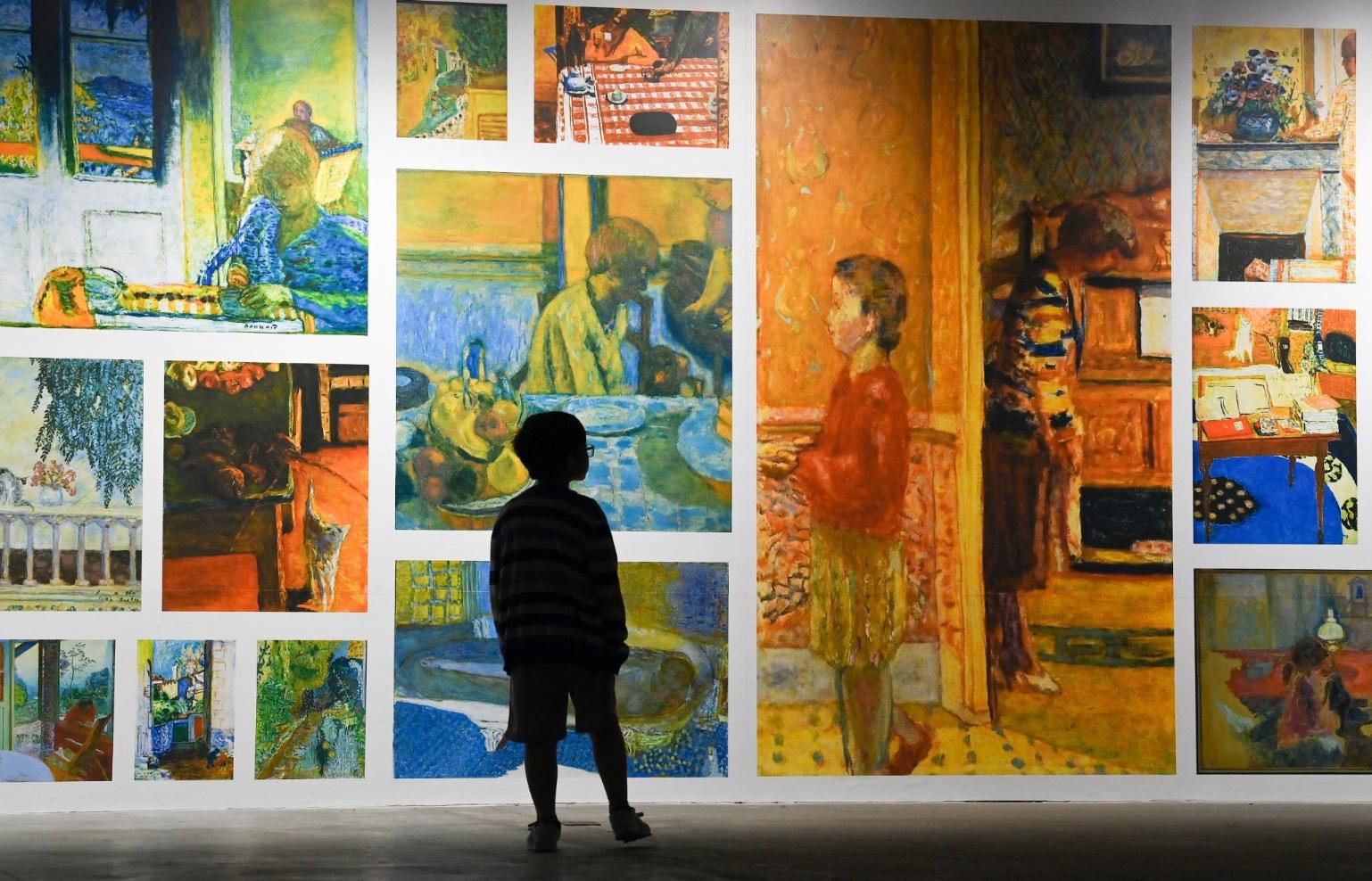 """""""Ngoài"""" và """"trong"""" ở triển lãm của Claude Monet và Pierre Bonnaer tại VCCA - Ảnh 8."""