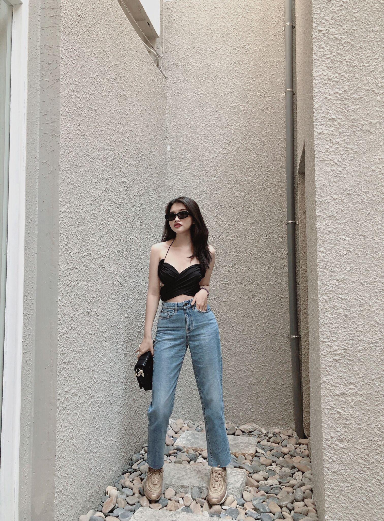 Điểm danh 6 dáng quần jeans mà cô nàng thời trang không thể thiếu - Ảnh 8.