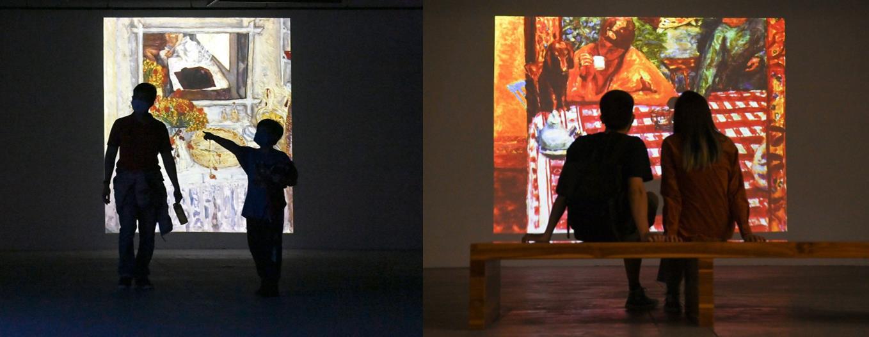 """""""Ngoài"""" và """"trong"""" ở triển lãm của Claude Monet và Pierre Bonnaer tại VCCA - Ảnh 10."""