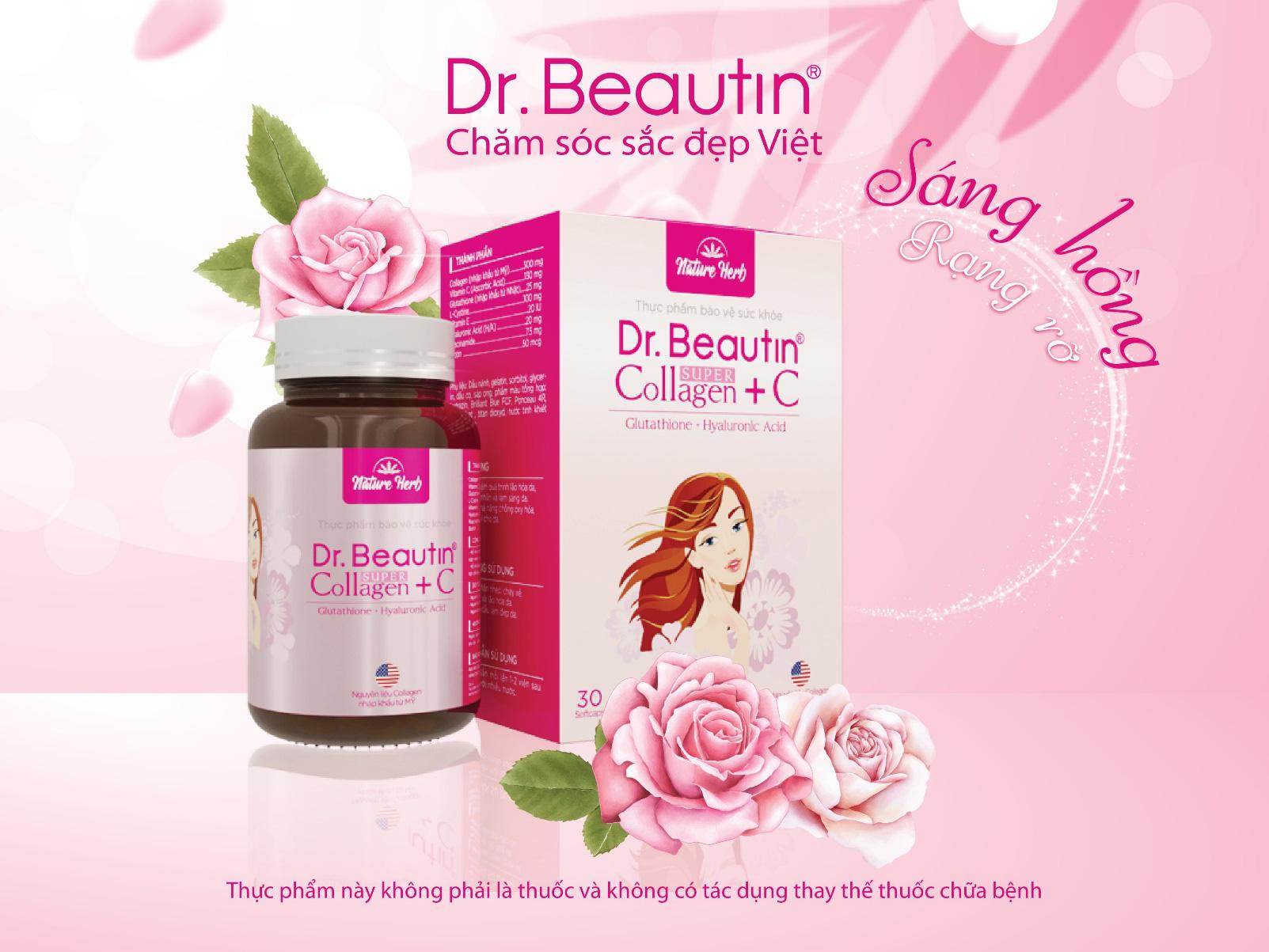 Dr. Beautin Super Collagen + C hỗ trợ da săn chắc căng mịn - Ảnh 5.