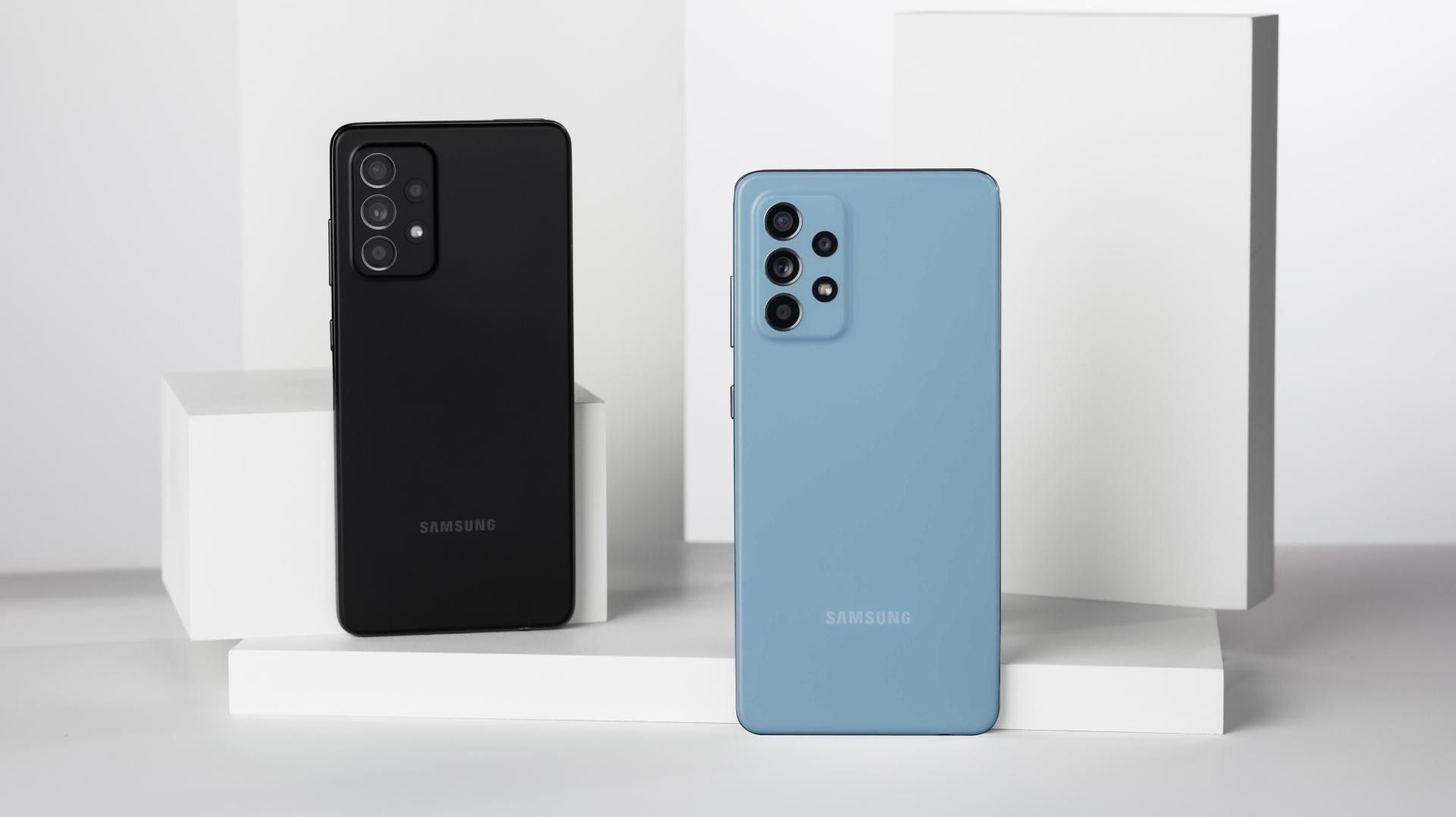 """""""Hot rần rần"""" với Samsung Galaxy A52 5G, vừa nhanh, mạnh, chống nước lại có cả bộ camera """"xịn xò"""" - Ảnh 1."""