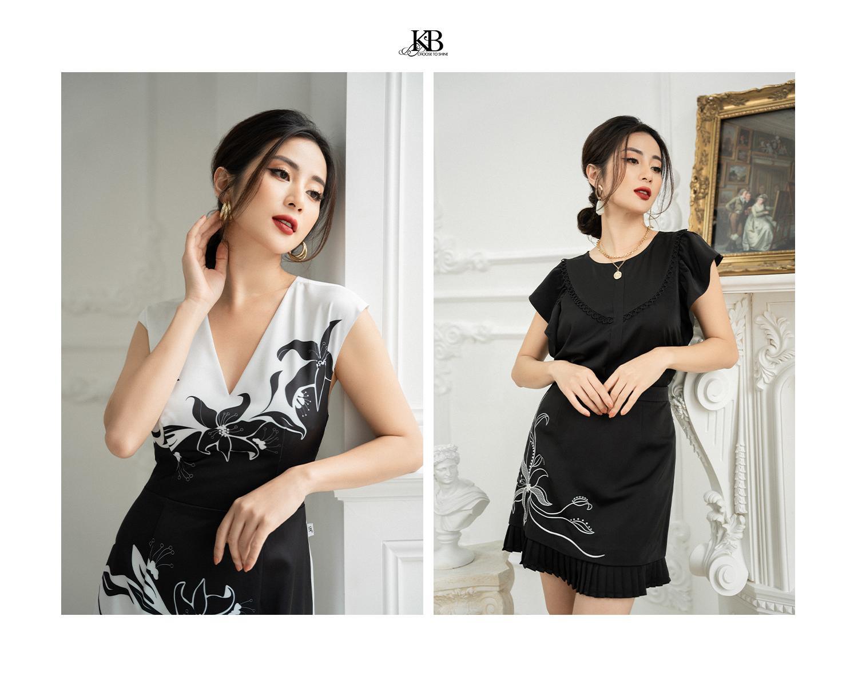 """Ngọc Anh Miss Audition khoe vẻ """"sang chảnh ngút ngàn"""" ở tuổi 33 trong Summer Trend 2021 của KB Fashion - Ảnh 5."""