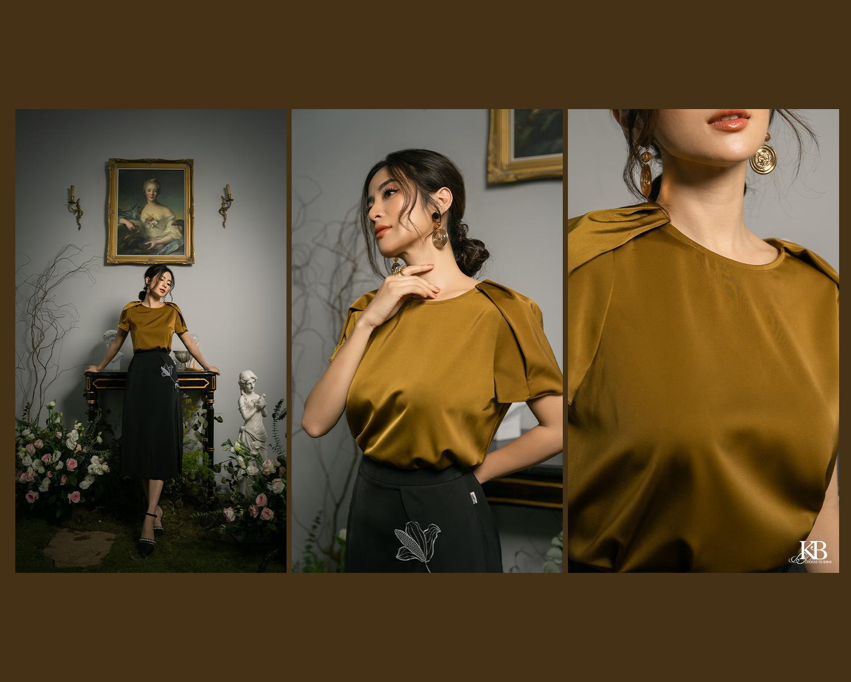"""Ngọc Anh Miss Audition khoe vẻ """"sang chảnh ngút ngàn"""" ở tuổi 33 trong Summer Trend 2021 của KB Fashion - Ảnh 8."""