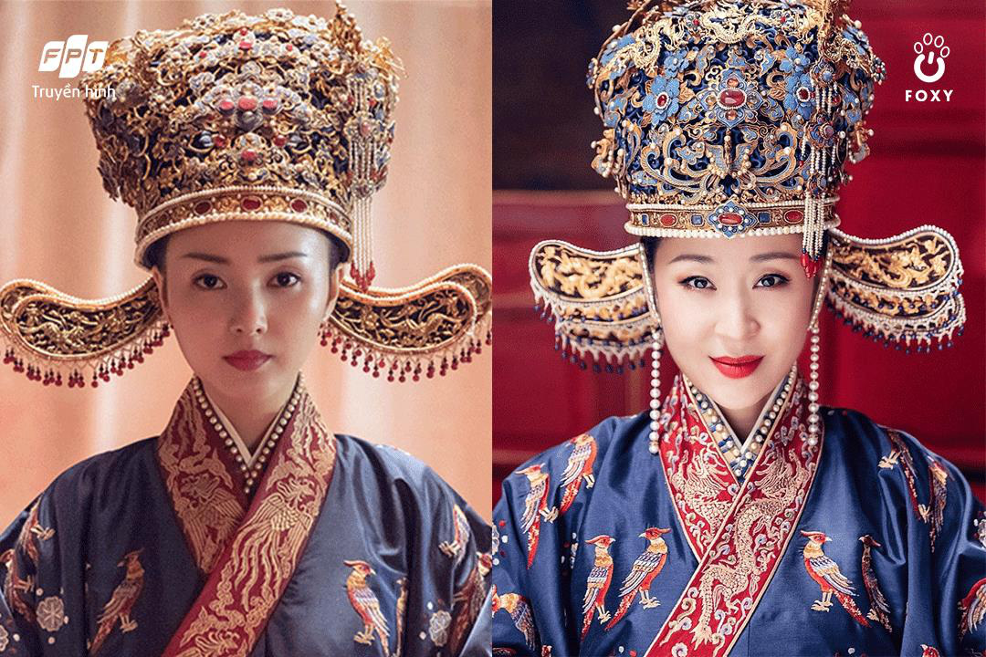 The beauty of the Song Dynasty on the screen: Luu Dao contrasted with Giang So Anh and Trieu Le Dinh - Photo 1.