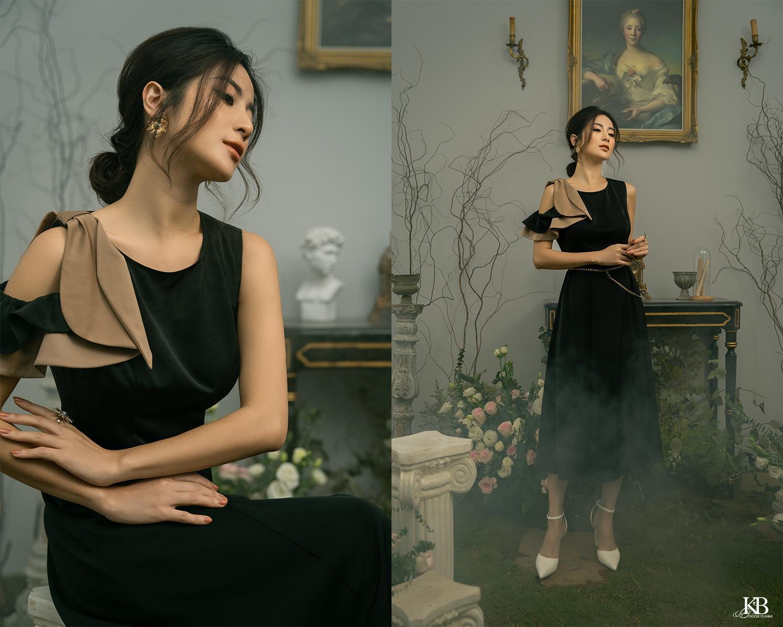 """Ngọc Anh Miss Audition khoe vẻ """"sang chảnh ngút ngàn"""" ở tuổi 33 trong Summer Trend 2021 của KB Fashion - Ảnh 7."""