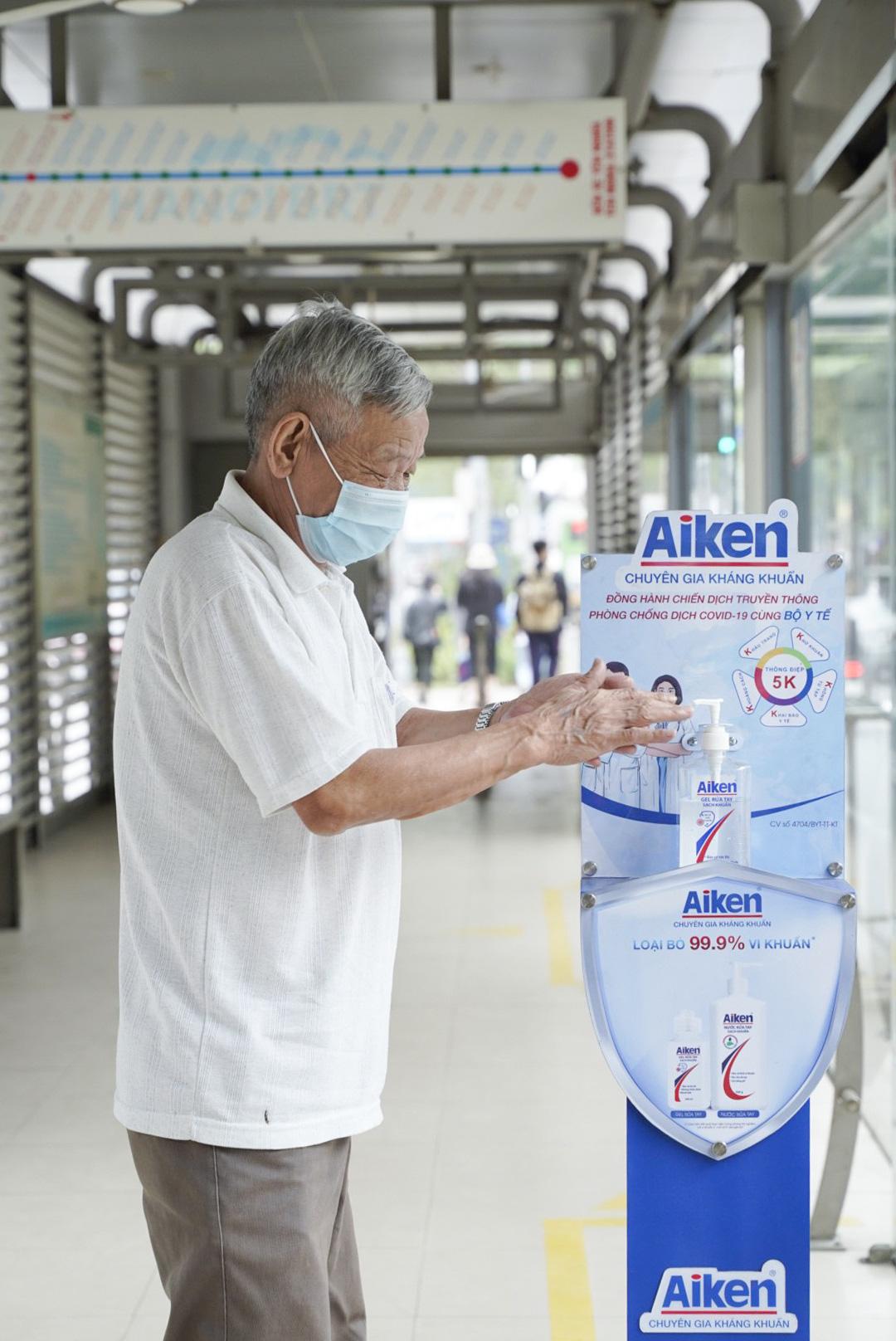 Giữ sạch đôi tay, hòa nhịp sống vui với trụ rửa tay sạch khuẩn nơi công cộng - Ảnh 4.