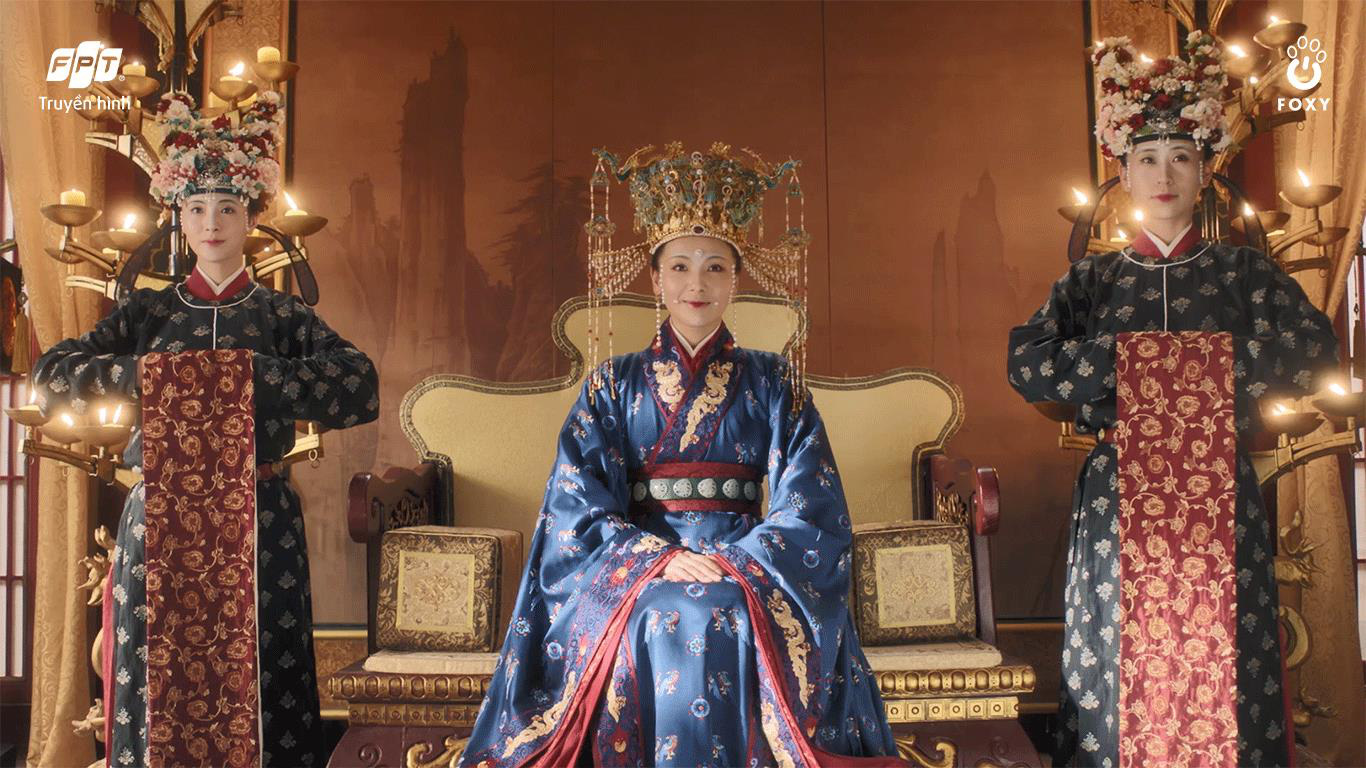 The beauty of the Song Dynasty on the screen: Luu Dao contrasted with Giang So Anh and Trieu Le Dinh - Photo 4.