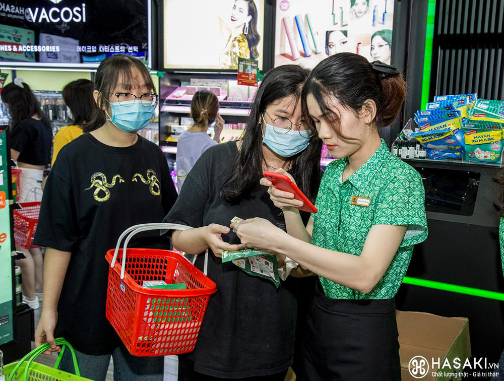 Tháng 4, Hasaki vừa khai trương chi nhánh 18, lại tiếp tục mở thêm 2 cửa hàng mới tại TP.HCM và Hà Nội - Ảnh 4.
