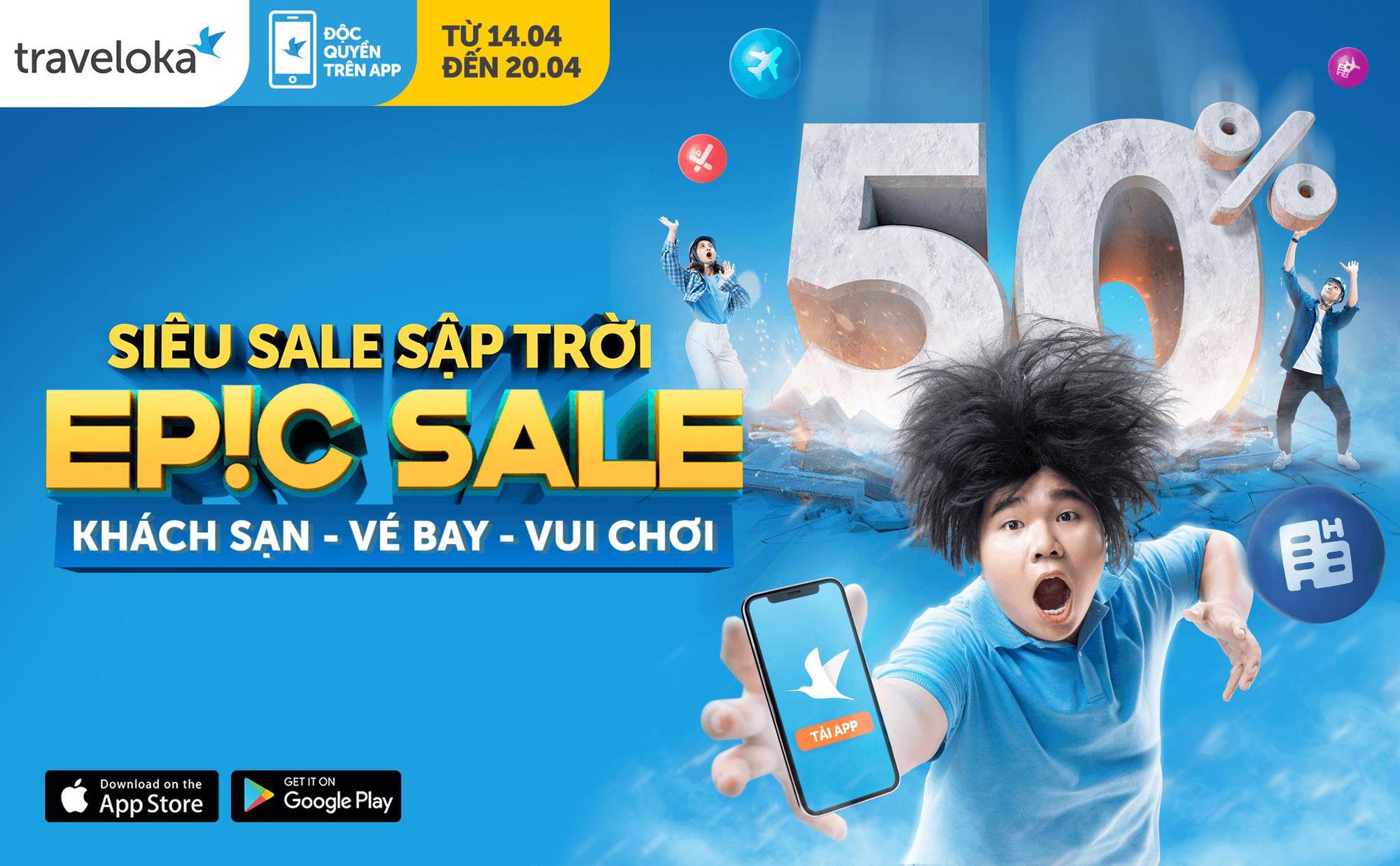 Traveloka EPIC Sale 2021 tái xuất, vạn deal chất ngất - Ảnh 1.