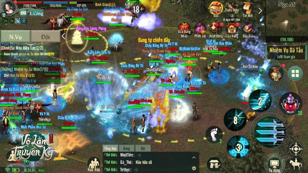 Võ Lâm Truyền Kỳ 1 Mobile ra mắt: Ngập tràn cảm xúc trong cộng đồng game thủ Việt - Ảnh 3.