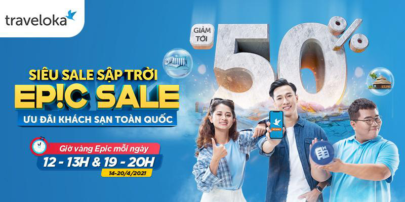 Traveloka EPIC Sale 2021 tái xuất, vạn deal chất ngất - Ảnh 4.