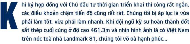 """Gặp người đàn ông xây toà nhà cao nhất Việt Nam: """"Chúng tôi đủ sức làm nên những công trình dẫn đầu thị trường"""" - Ảnh 1."""