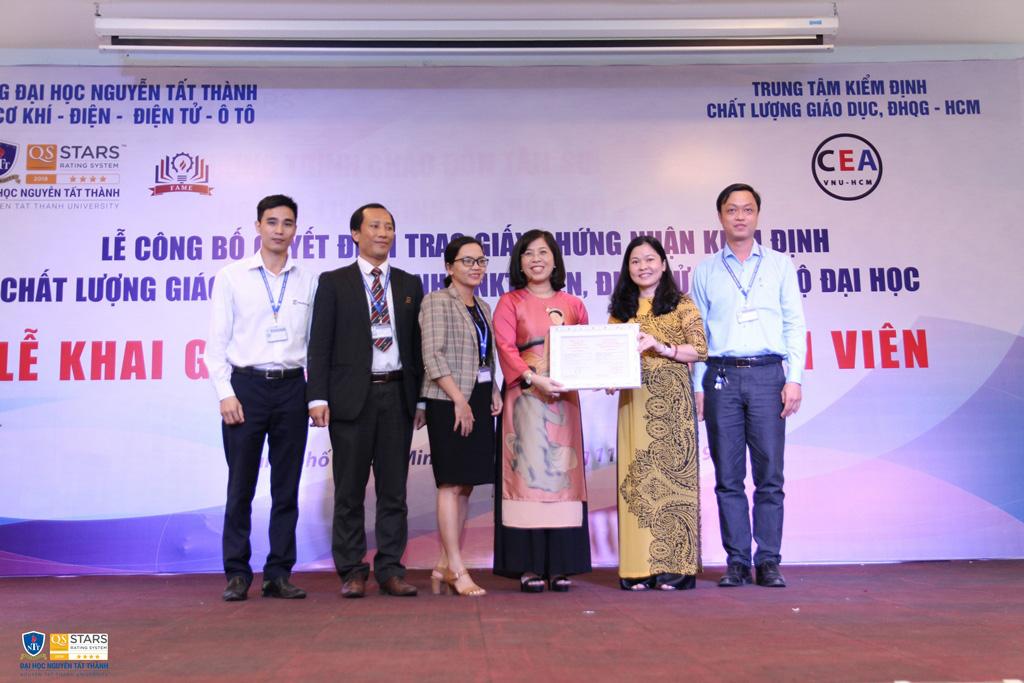 Trường ĐH Nguyễn Tất Thành: Tham gia kiểm định và xếp hạng là để đổi mới, nâng cao vị thế và chất lượng đào tạo - Ảnh 6.