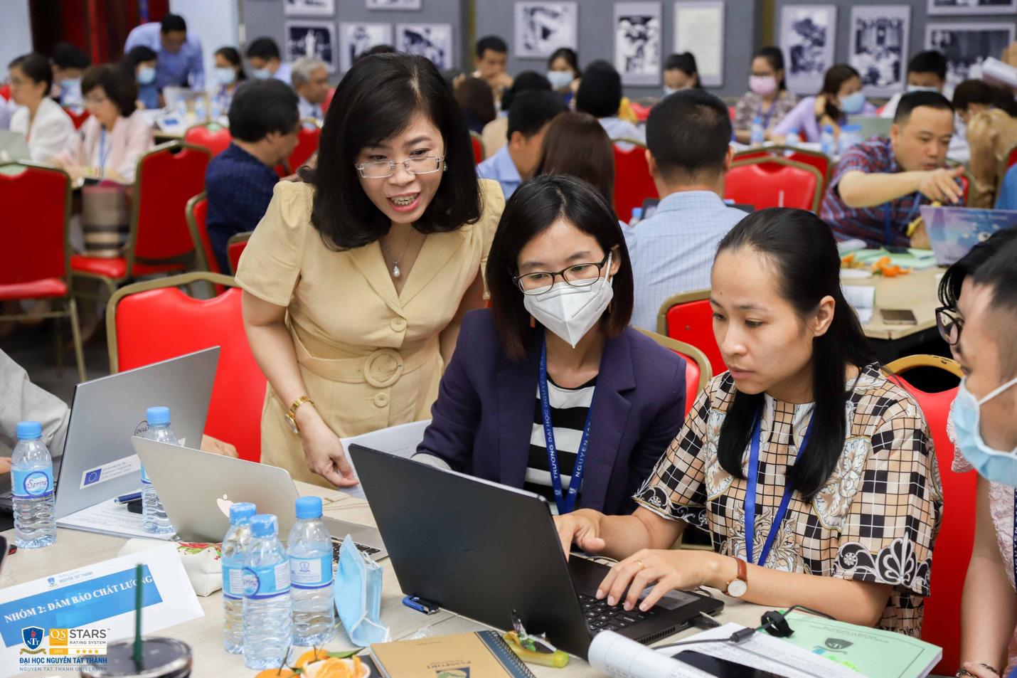 Trường ĐH Nguyễn Tất Thành: Tham gia kiểm định và xếp hạng là để đổi mới, nâng cao vị thế và chất lượng đào tạo - Ảnh 7.