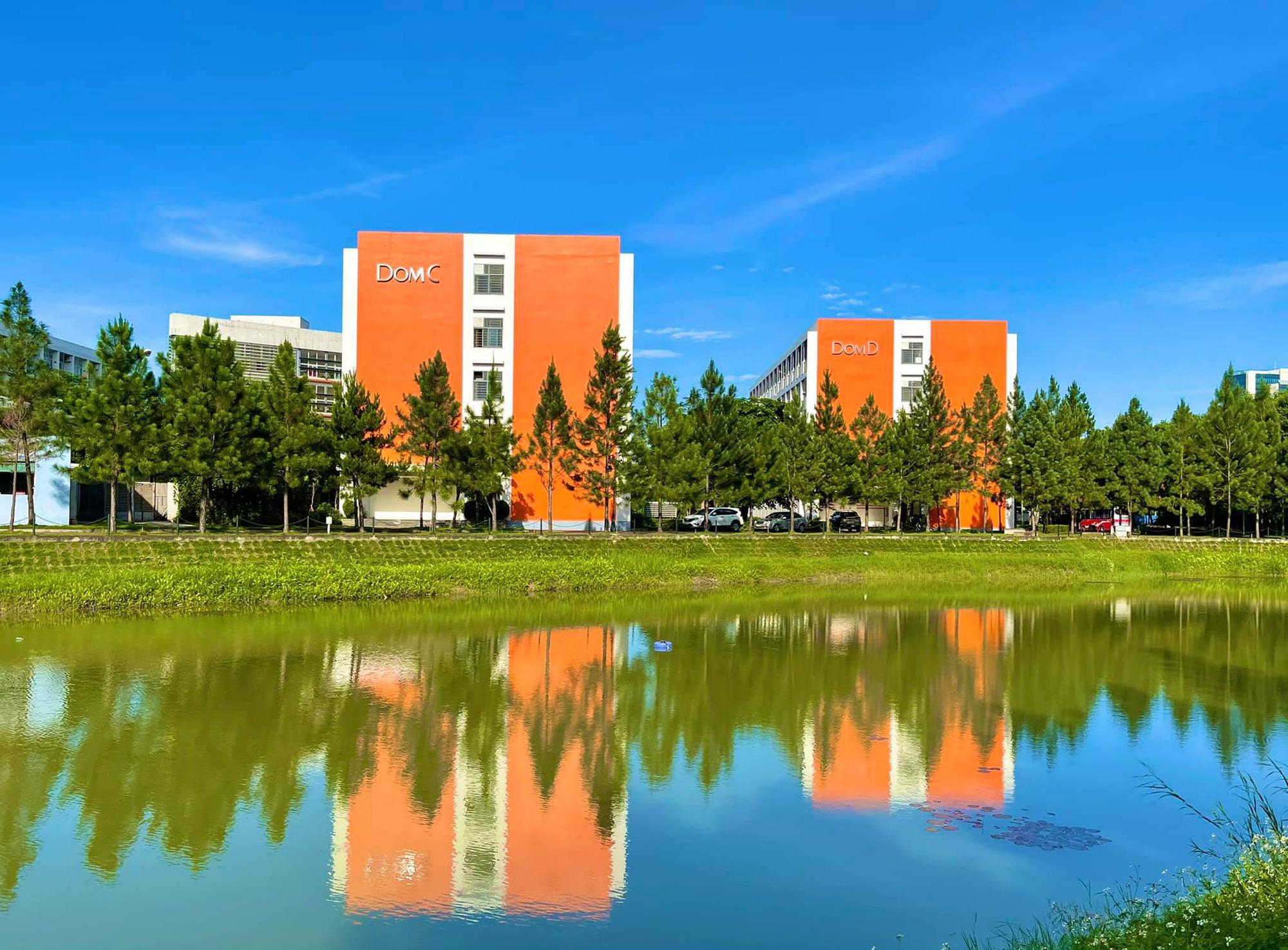 Cận cảnh khu cách ly Covid-19 xanh mát tại campus Hòa Lạc - Ảnh 1.