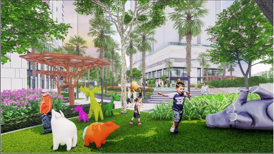 Sắp xuất hiện tổ hợp công viên giải trí bên hồ tại khu Đông - The Sky Park - Ảnh 3.