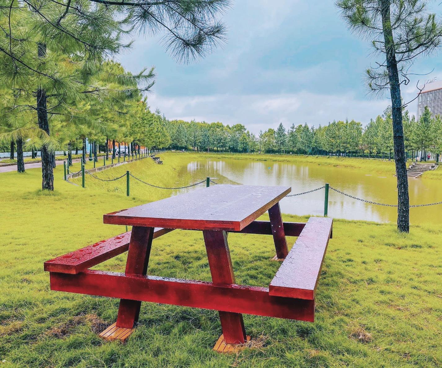 Cận cảnh khu cách ly Covid-19 xanh mát tại campus Hòa Lạc - Ảnh 4.