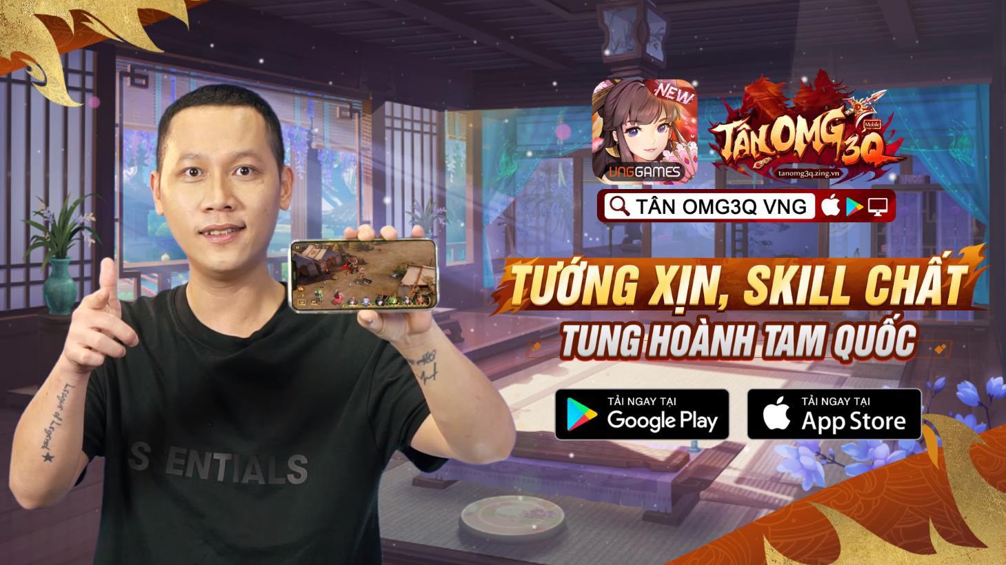 Từ làng streamer đến giới showbiz, các hot boy, hot girl đều thành fan của game chiến thuật Tân OMG3Q VNG - Ảnh 1.